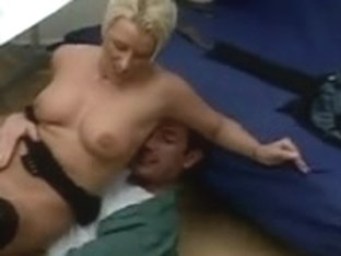 Divorced MILF enjoys a young cock in her tight vagina