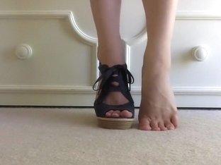My Feet in High Heels!!