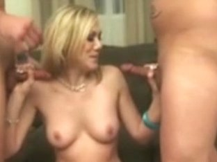 Blonds first double penetration
