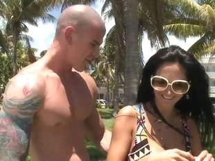 Provocative milf Ava Addams has fun with young stud