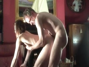 Spoiled and horny girl is giving head and getting drilled like never before
