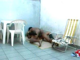 Brazilian friends having sex