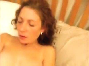 Horny classy masturbates soaked crack until cumming