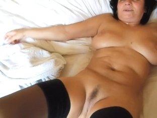 My busty wife