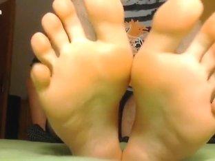 my feet / my boyfeet / my paw