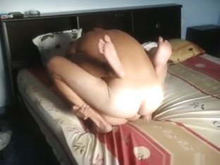 Asian milf has 69 and missionary sex with her white husband