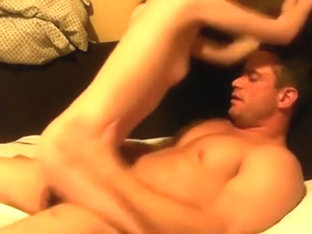 Skinny girl rides her man and gets a creampie