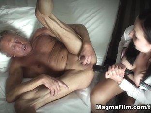 Crazy pornstars in Horny Brunette, Hardcore porn video
