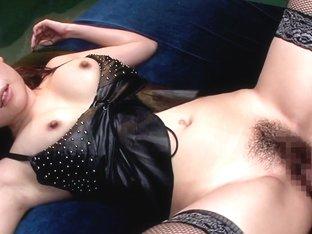 Bondage Babe Rides Her Slaves Cock