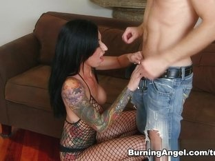 Crazy pornstars Michael Vegas, Lily Lane in Fabulous Emo, Stockings adult scene