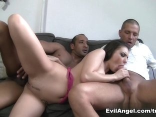 Exotic pornstars Tony Brooklyn, Thomas Stone in Horny Anal, DP porn scene