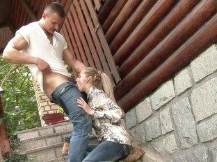 Amazing pornstar Jenny Simons in fabulous deep throat, european sex video