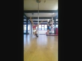 British Pole Dancing Student