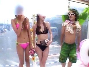 Hottest Japanese slut in Fabulous Group Sex JAV clip