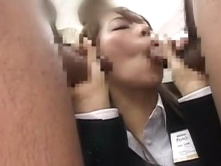 Hottest Japanese girl in Incredible Public, Secretary JAV movie