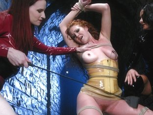 Exotic fetish, lesbian adult scene with incredible pornstars Sandra Romain and Sabrina Fox from Wh.