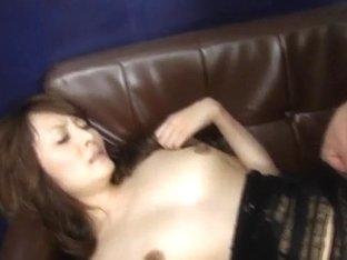 Karen Miyajima is well fucked in mouth and between hair