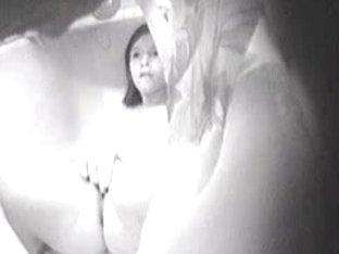 Ravishing girl masturbating with a sex toy on web camera