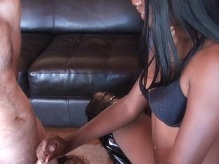 BlackGirlsWhiteSlaves: You Can Cum Now Lick It Up