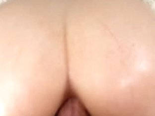 Amateur brunette gets screwed in the butt POV style