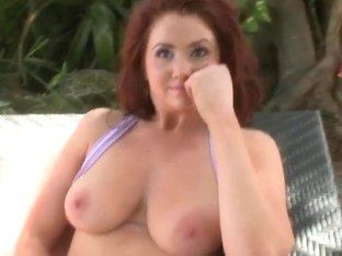 Big Bouncy Boobs On Auroura Massaged As She's Ready To Fuck