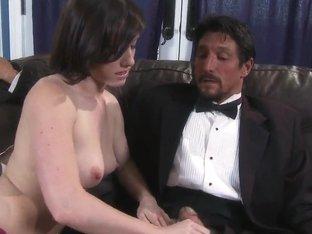 Jennifer White and Tommy Gunn in hardcore
