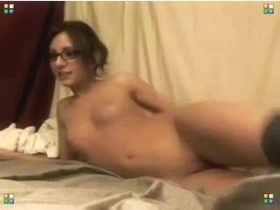 Webcam girl in argly socks 2