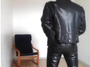 biker leather rubber cigare and poppers