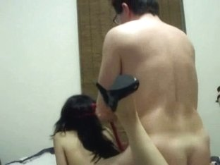 Horny Asian American Couple's Anal