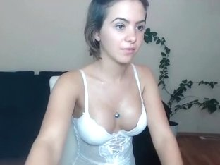 AnittaBond4u in sexy white outfit