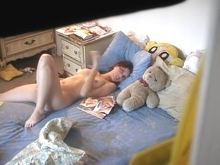 I filmed my neighbor fucking a toy
