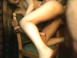 Delightsome golden-haired acquires throatfucked