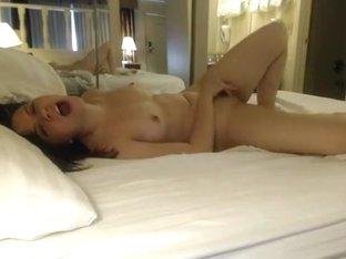 How the gf starts her day. morning masturbation ritual !!!