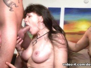 Hottest pornstars Alexandra Silk, Sonny Hicks, Taylor Russo in Horny Threesomes, Anal xxx scene