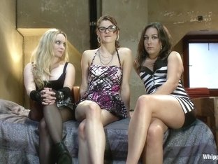 Exotic lesbian, fetish xxx movie with incredible pornstars Aiden Starr, Lux Leota and Sinn Sage fr.