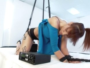 Hot MILF is an Electro-Anal-Slut!