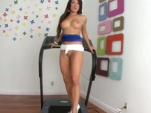 Amy Brooke tempts her fate and her ass as well