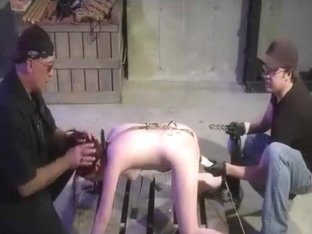 Anal Hook And Spanking Threesome