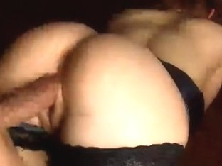 Blindfolded and fucked in cage