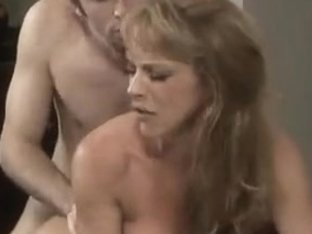 Older Hawt Mama With Youthful Fella in Bedroom