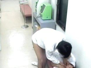 Hidden cam in the hospital filmed a really good sex
