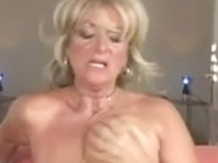 Busty mature blonde gets boned hard