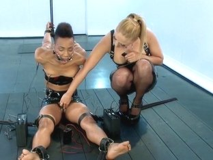 Exotic Sex Pot Nikki Feels Electrosex for the 1st Time