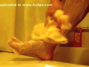 leg shaving