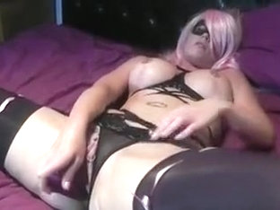 17 inch anal insertion with belly bulge