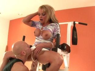 Exotic pornstar Shayla LaVeaux in crazy milf, facial sex movie