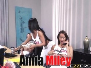 Amia Miley in 1 800 Phone Sex Line 1
