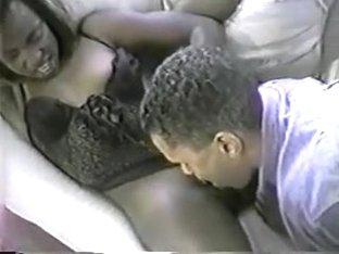 Jake Steed (Black American, Light Skin) & a black girl