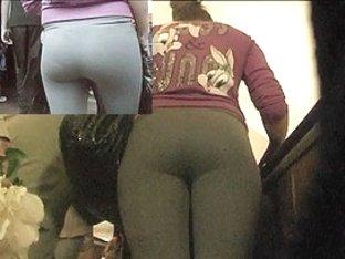 Sexy gazoo in leggins