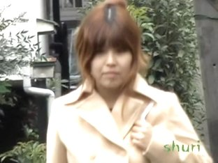 Fiery brown-haired Asian angel gets nicely fooled by some sharking fella